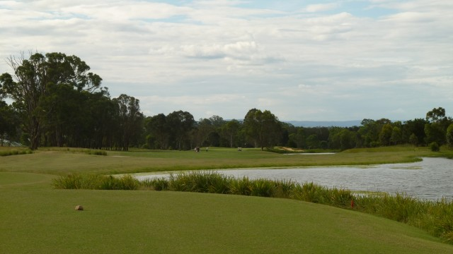 The 16th tee at Twin Creeks Golf & Country Club