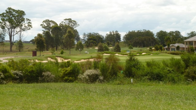 The 6th tee at Twin Creeks Golf & Country Club