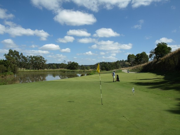 The 11th green at Heritage Golf & Country Club St Johns Course