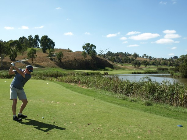 The 11th tee at Heritage Golf & Country Club St Johns Course