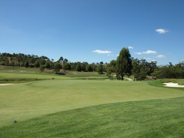 The 15th green at Heritage Golf & Country Club St Johns Course