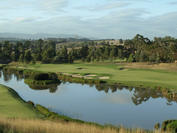 The 15th hole at Heritage Golf & Country Club St Johns Course