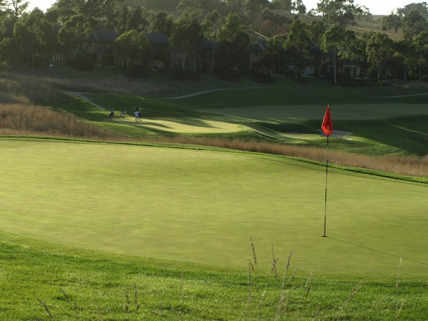 The 17th green at Heritage Golf & Country Club St Johns Course