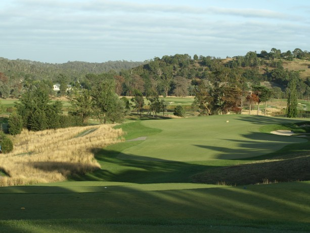 The 18th tee at Heritage Golf & Country Club St Johns Course