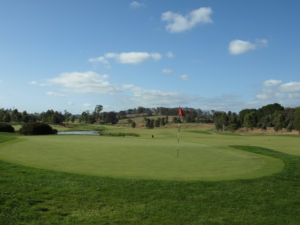 The 4th green at Heritage Golf & Country Club St Johns Course