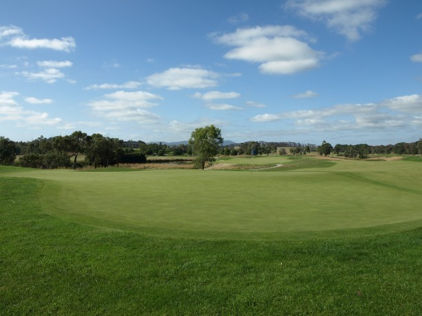 The 5th green at Heritage Golf & Country Club St Johns Course