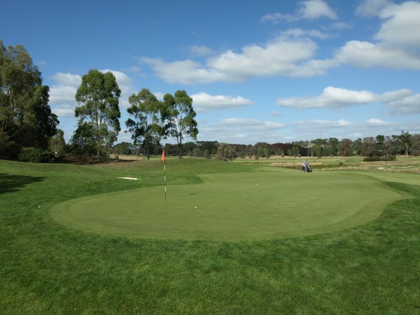 The 7th green at Heritage Golf & Country Club St Johns Course