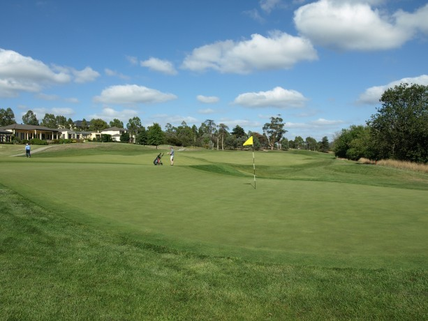 The 8th green at Heritage Golf & Country Club St Johns Course