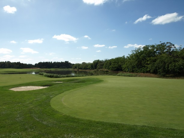 The 9th Green at Heritage Golf & Country Club St Johns Course