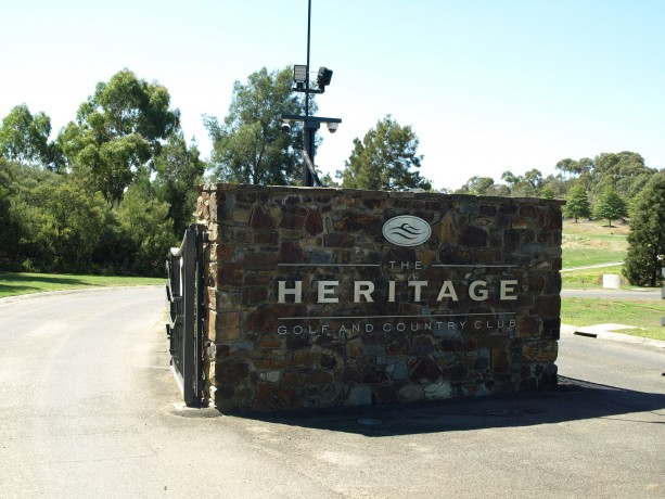 Entrance to Heritage Golf & Country Club