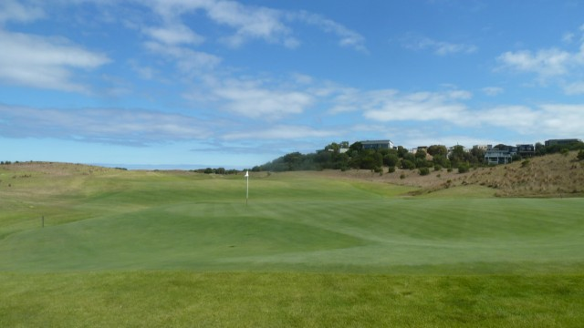 The 14th green at Moonah Links Open Course