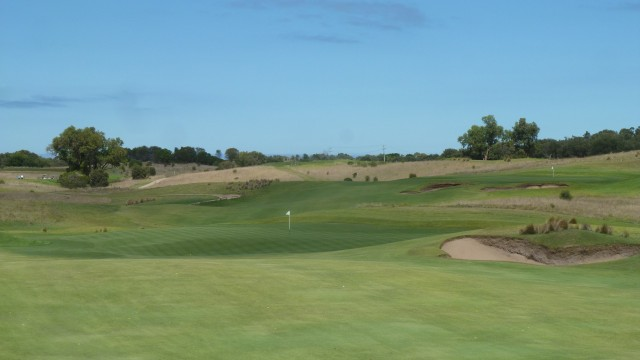 The 16th fairway at Moonah Links Open Course