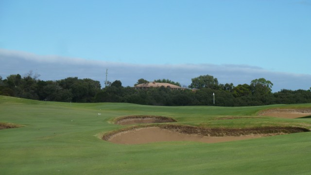 The 2nd fairway at Moonah Links Open Course