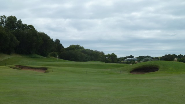 The 8th fairway at Moonah Links Open Course