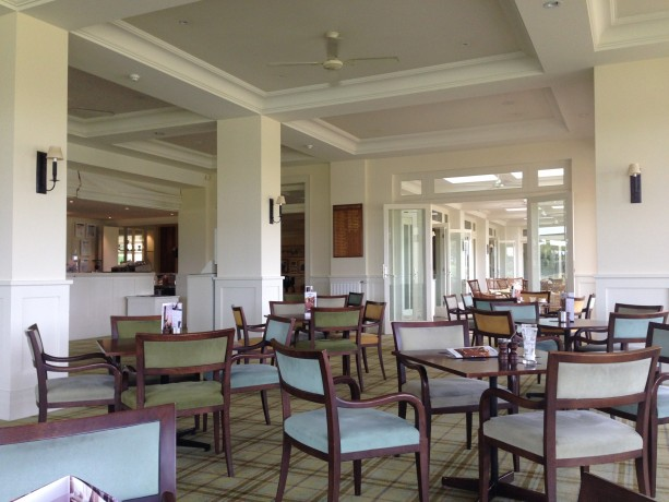 Interior Of The Clubhouse At Royal Melbourne Golf Club East Course