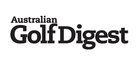 Logo for Australian Golf Digest which does a ranking of the Top 100 Golf Courses
