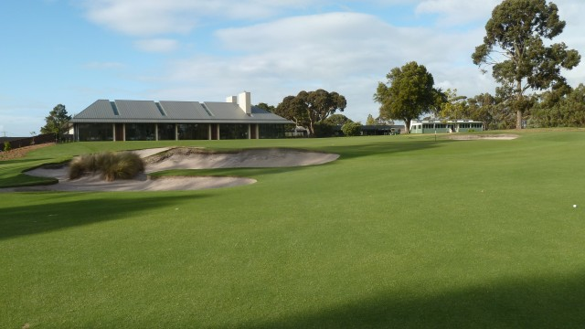 Metropolitan Golf Club 18th Green