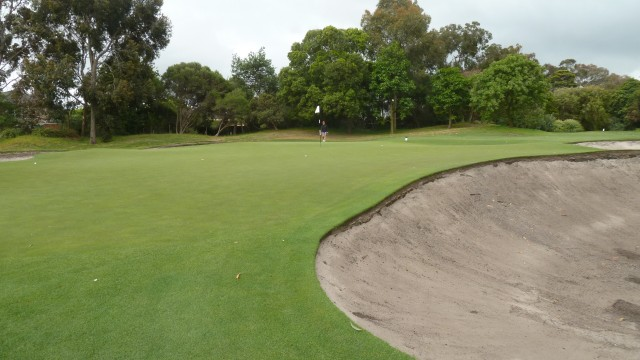 Metropolitan Golf Club 2nd Green
