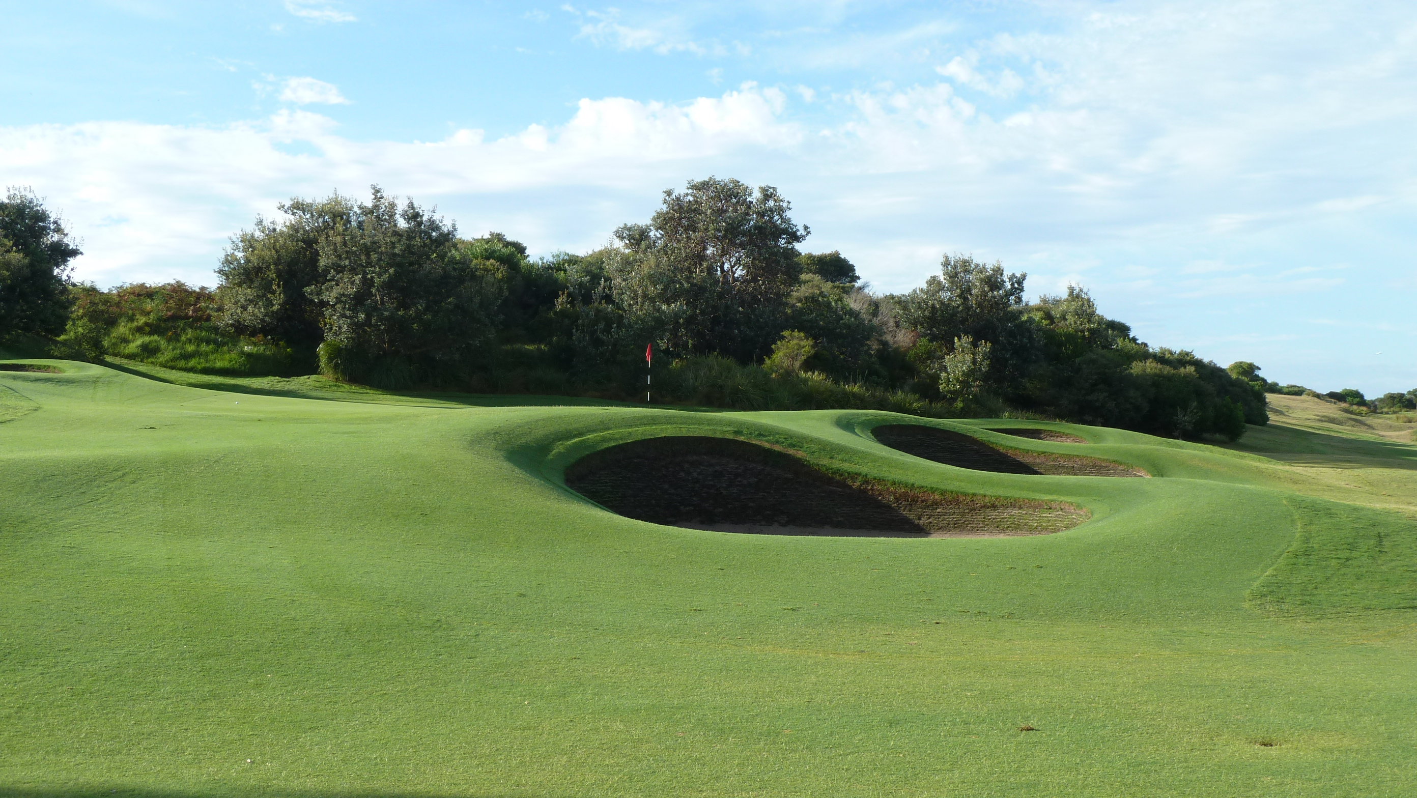 The 10th green at NSW Golf Club