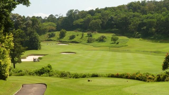 The 3rd tee at Ria Bintan Golf Club Ocean Course