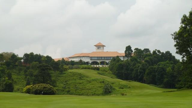 The clubhouse at Ria Bintan Golf Club