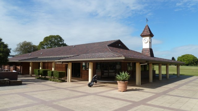 The Pro shop at Royal Queensland Golf Club