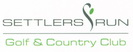 Logo for Settlers Run Golf & Country Club
