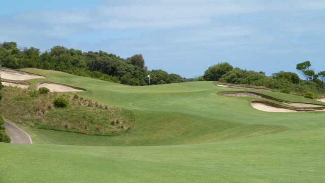 The 1st fairway at The National Golf Club Old Course
