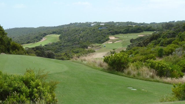 The 8th tee at The National Golf Club Old Course