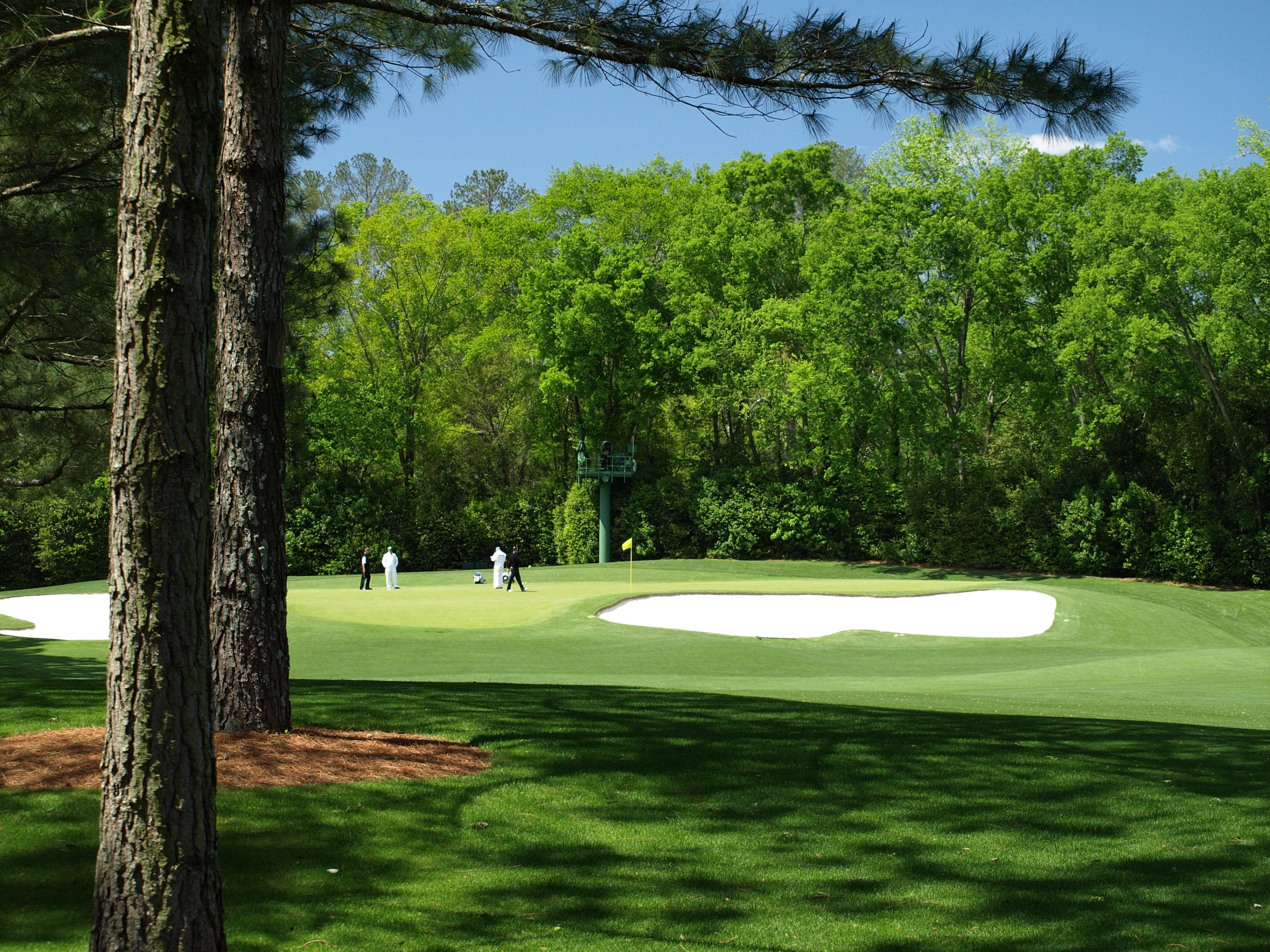 The 4th green at Augusta National Golf Club
