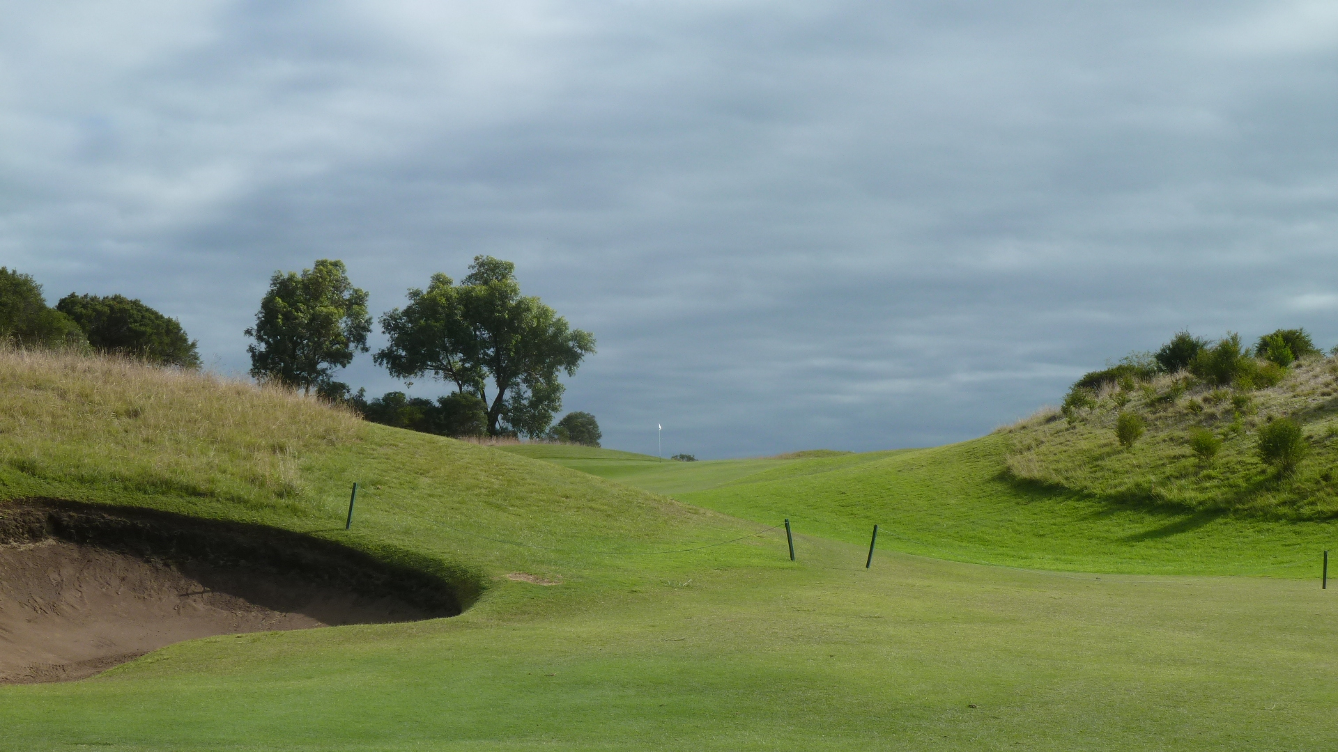 The 3rd fairway at Moonah Links Open Course