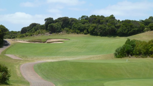 The 10th tee at The National Golf Club Old Course