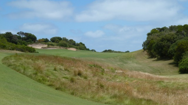 The 11th tee at The National Golf Club Old Course