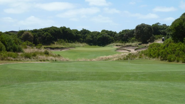 The 13th tee at The National Golf Club Old Course