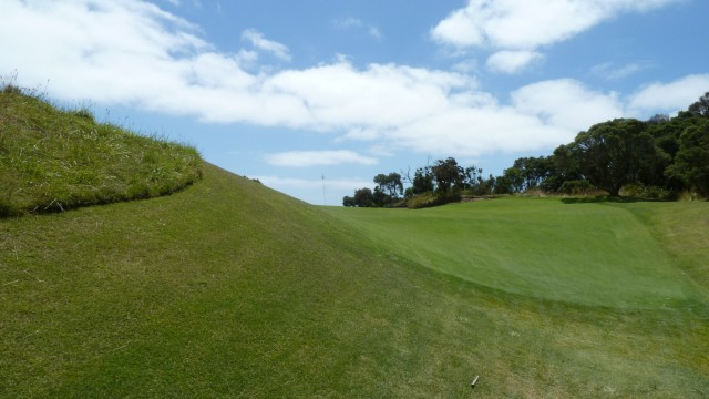 The 16th green at The National Golf Club Old Course