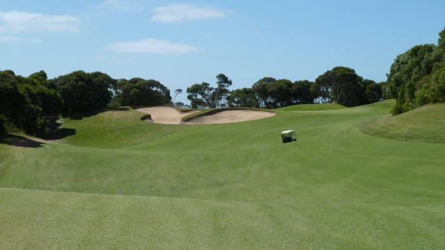 The 2nd fairway at The National Golf Club Old Course