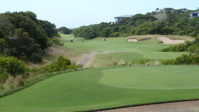 The 2nd tee at The National Golf Club Old Course