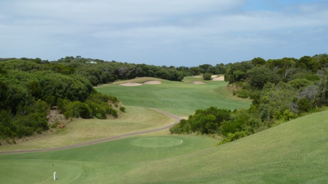 The 6th tee at The National Golf Club Old Course