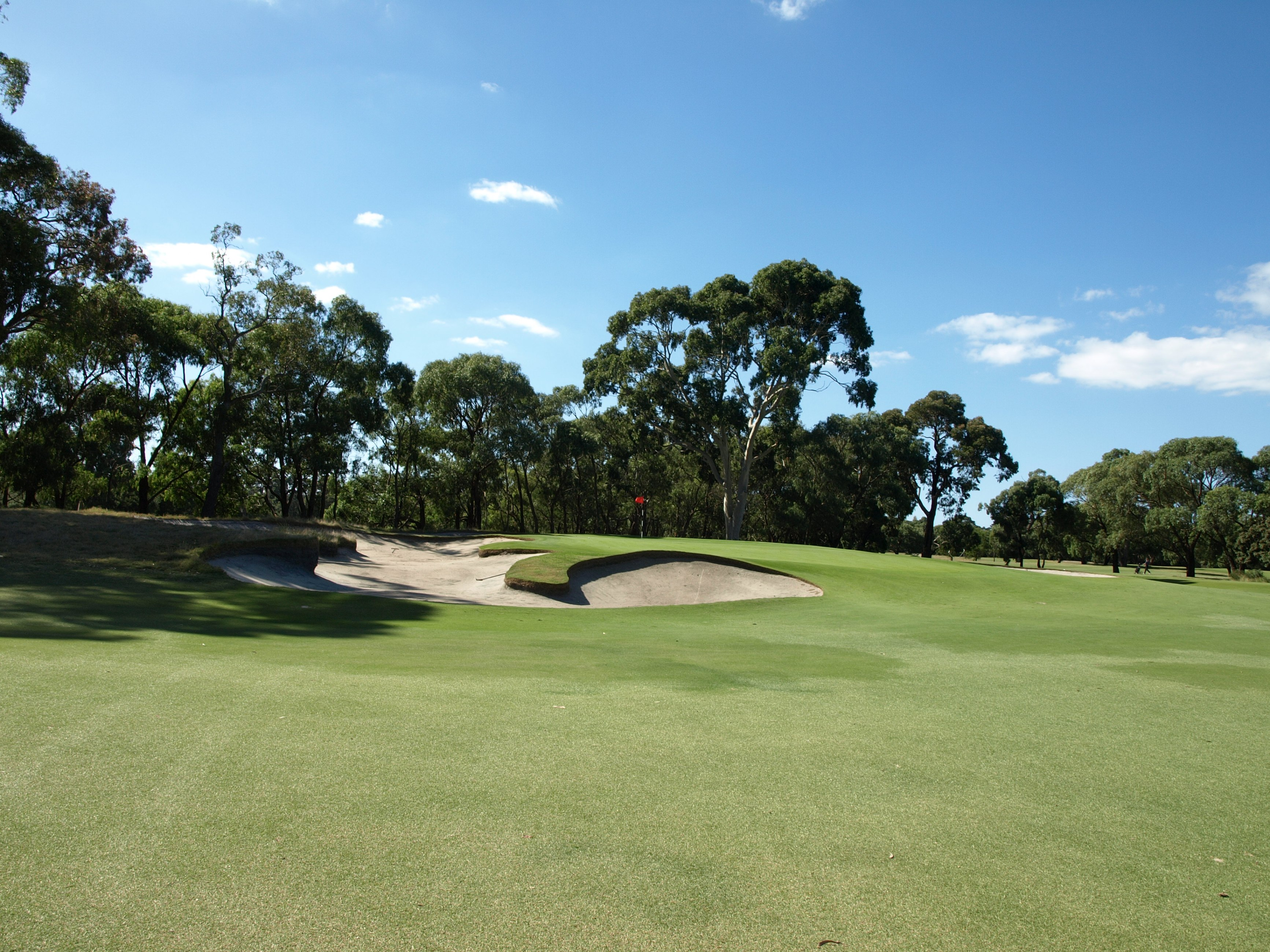 The 10th fairway at Long Island Country Club