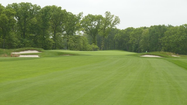 The 12th Green at Bethpage State Park Black Course