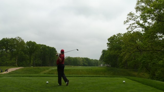 The 13th Tee at Bethpage State Park Black Course