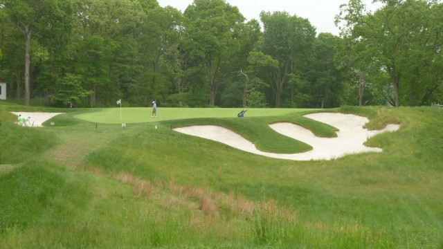 The 14th Green at Bethpage State Park Black Course