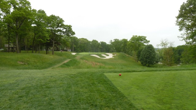 The 14th Tee at Bethpage State Park Black Course
