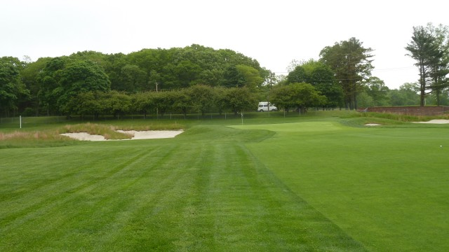 The 1st Green at Bethpage State Park Black Course