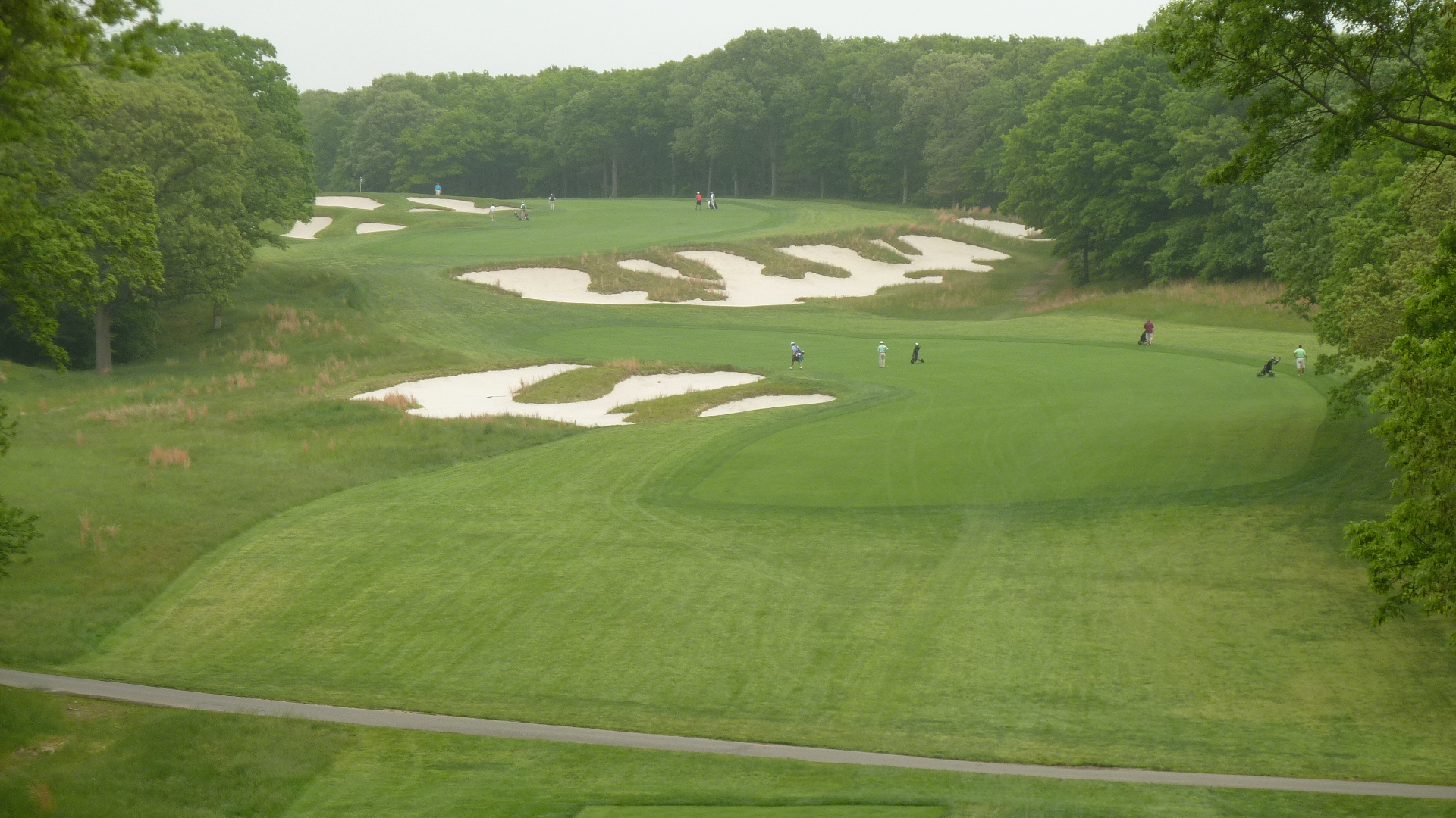 The 4th Tee at Bethpage State Park Black Course