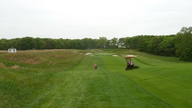 The 6th Fairway at Bethpage State Park Black Course