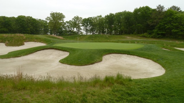 The 6th Green at Bethpage State Park Black Course