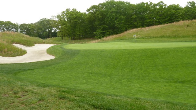 The 8th Green at Bethpage State Park Black Course