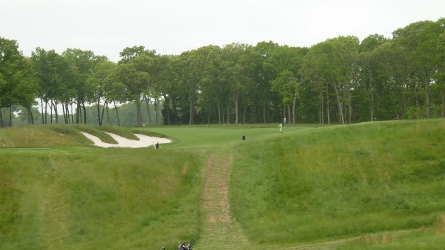 The 9th Tee at Bethpage State Park Black Course