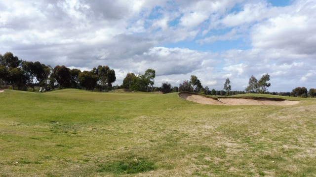 The 15th Green at Eynesbury Golf Club